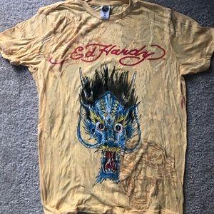 Ed Hardy T-shirt.